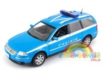 model Welly 1:24 - Volkswagen Passat Variant POLIZIA