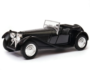 Jaguar SS 100 open top 1:34-39 model WELLY
