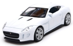 Jaguar F-Type - model Welly skala 1:43