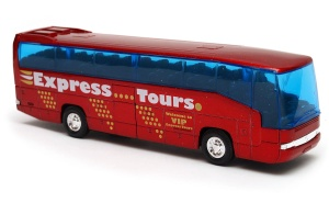 autobus Mercedes-Benz MB 0 303 RHD 1:60 model WELLY