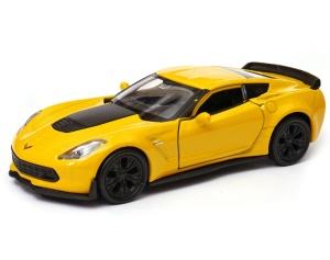 Chevrolet Corvette Z06 2017 1:34-39 model WELLY