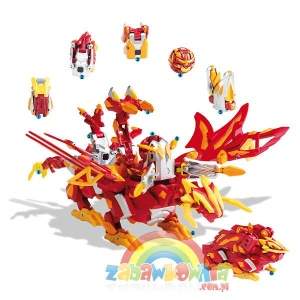 Gundalian Invaders BAKUGAN COLOSSUS DRAGONOID
