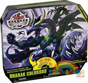 Gundalian Invaders BAKUGAN COLOSSUS DARKUS DARK