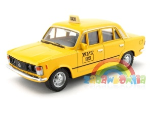 model FIAT 125p TAXI - taksówka Welly skala 1:43