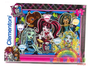 Puzzle 250 elementów Monster High