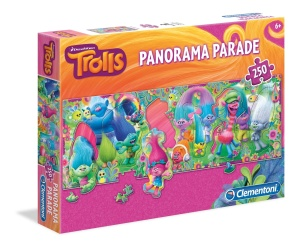 Clementoni puzzle 250 Panorama Trolle