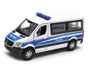 Mercedes-Benz Sprinter Traveliner POLIZEI 1:34-39 model WELLY