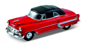 Chevrolet Bel Air 1953 soft top 1:34-39 model WELLY