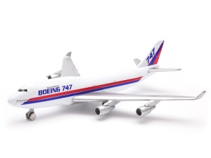 Model Welly w skali 1:500 samolot Boeing 747