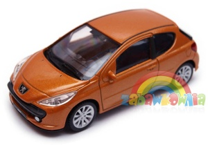 Peugeot 207 - model Welly skala 1:43