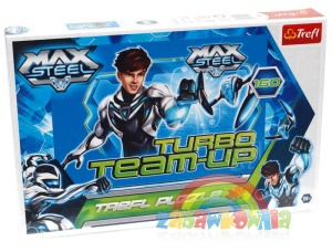 Trefl puzzle 160 elementów Max Steel - Turbo Team-Up 15240