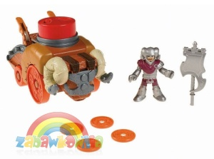 Fisher Price IMAGINEXT MACHINA OBLĘŻNICZA - TARAN + gratis