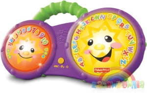 Fisher-Price Laugh and Learn Kąpielowe Bongosy