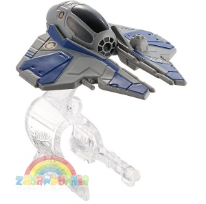 HOT WHEELS Star Wars - stetek kosmiczny Jedi Starfighter