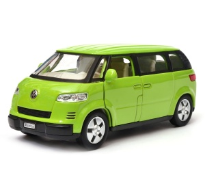 Volkswagen Microbus 2001 1:34-39 model WELLY