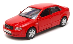 Audi A4  1:34 - 39 model WELLY 42318