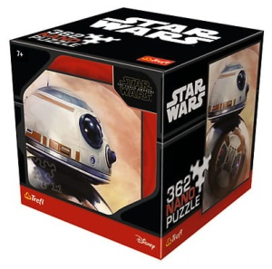 puzzle Trefl 362 elementy STAR WARS droid BB-8 - Nano puzzle Collection