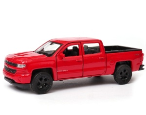 Chevrolet Silverado 2017 1:34-39 model WELLY