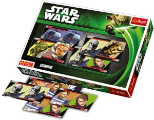 Gra Domino Trefl Star Wars - The Clone Wars