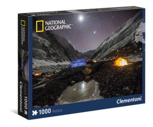 Clementoni puzzle 1000 elementów National Geographic - Everest Camp