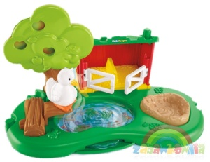 Little People Fisher-Price Staw i zagroda dla świnek