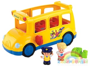 Little People Fisher-Price Wesoły Autobus