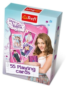 Karty do gry - Violetta