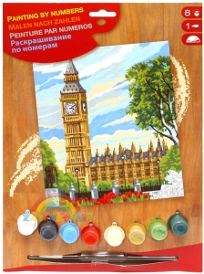 PAINTING BY NUMBERS Junior - Londyn - Big Ben