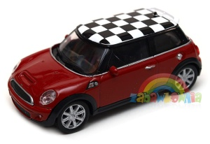 Mini Cooper S - model Welly skala 1:43