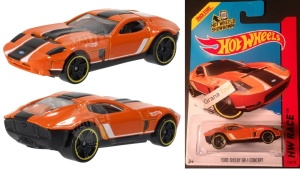 HOT WHEELS  HW RACE Ford Shelby GR-1 Concept