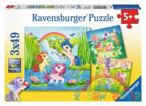 Ravensburger puzzle 3x49 elementów My Little Pony