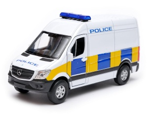 Mercedes-Benz Sprinter police 1:34-39 model WELLY