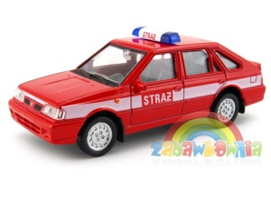 Polonez Caro Plus straż model Welly w skali 1:43