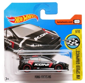 HOT WHEELS SPEED GRAPHICS Ford Focus RS