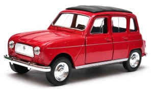 Renault 4 1:34-39 model WELLY 4L R4