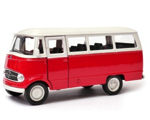 Mercedes-Benz L319 travel 1:34-39 model WELLY