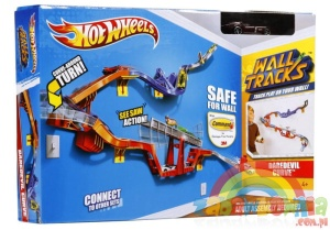 HOT WHEELS Ścianowce WALL TRACKS DAREDEVIL CURVE W2106