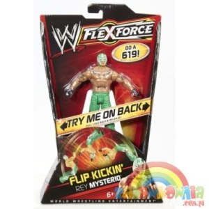 World Wrestling Entertainment figurka podstawowa FLEXFORCE Rey Mysterio