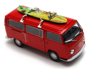 Volkswagen T2 Bus 1972 serfing 1:34-39 model WELLY