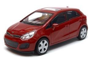 KIA RIO 1:34 - 1:39 model WELLY
