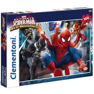 Puzzle Clementoni SuperColor Spider Man 104