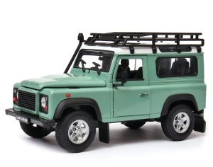 model Welly w skali 1:24 Land Rover Defender scapade