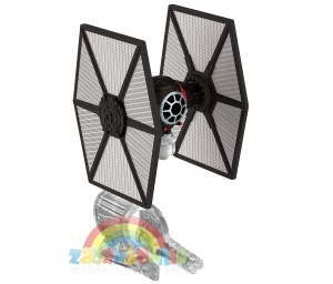 HOT WHEELS Star Wars - stetek kosmiczny TIE FIGHTER - First Order