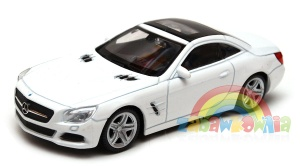 Mercedes-Benz SL 500 2012 - model Welly skala 1:43