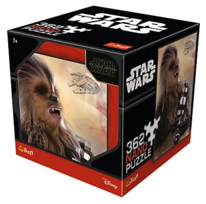 puzzle Trefl 362 elementy STAR WARS Chewie - Nano puzzle Collection