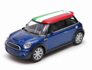 Mini Cooper Italy - model Welly skala 1:43