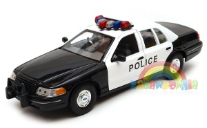 Ford Crown Victoria Highway Patrol model Welly w skali 1:24