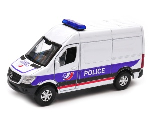 Mercedes-Benz Sprinter Police Nationale 1:34-39 model WELLY