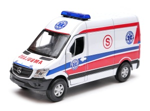 Mercedes-Benz Sprinter karetka 1:34-39 model WELLY