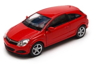 Opel Astra 2005 GTC 1:34-39 model WELLY